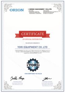 nhà phân phối chính thức ORION - yori.com.vn