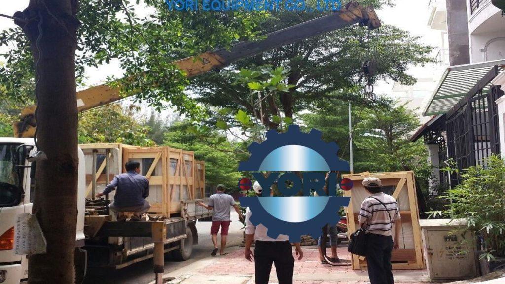 Máy nén khí airman về kho - yori.com.vn