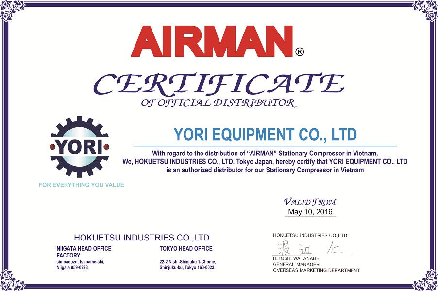 Nhà phân phối chính thức AIRMAN